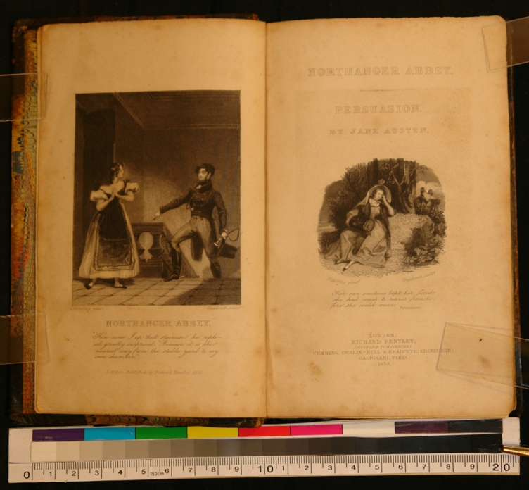 A rare edition of Northanger Abbey.